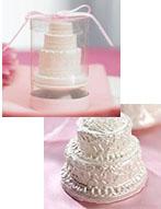 Miniatura della vostra torta nuziale